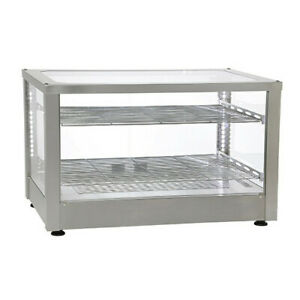 Equipex Wd780ss 2 Vitrina Display Case Warmer