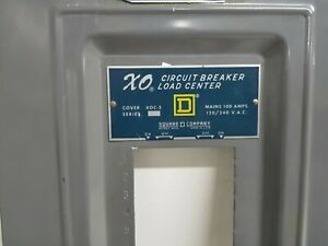 Square D Xo Circuit Breaker Load Panel Cover Lug Panel Model Number X Oc 5
