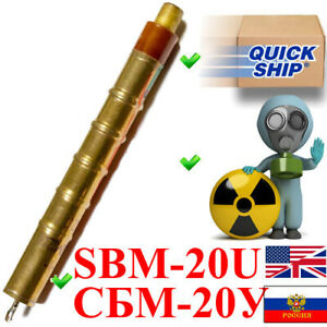 New Sbm 20u Sbm20y An Sts 5 Si22g M4011 J304 Geiger Muller Tube Counter Detector