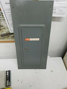 Federal Pacific Fpe Stab Lok Circuit Breaker Panel Box Cover Model Lx116 24