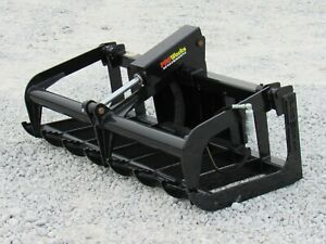 54 Heavy Duty Root Grapple Bucket Attachment Fits Toro Dingo Mini Skid Steer