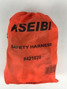 Kseibi 421020 Safety Fall Protection Kit Full Body Harness 6 Shock absorbing
