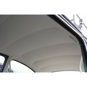 1947 1967 Vw Volkswagen Bug Beetle Perforated Vinyl Headliner W Post Material