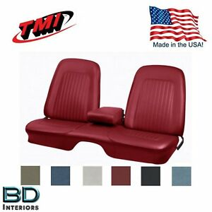 1967 1968 Camaro Front Rear Bench Seat Upholstery Any Color Made In Usa