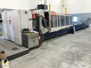 2004 Bystronic Byspeed 3015 Cnc Laser Cutting Machine 4400 Watt Recently Refurb