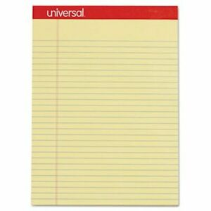 Universal Perforated Writing Pad Legal rule 50 sheet 12 Pads unv10630