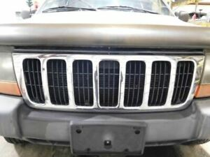 Grille Chrome Fits 99 03 Grand Cherokee 1198930