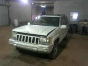 Front Bumper Reinforcement Limited Fits 96 98 Grand Cherokee 1202330