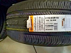 Continental Contiprocontact Radial Tire 235 45r19 95h