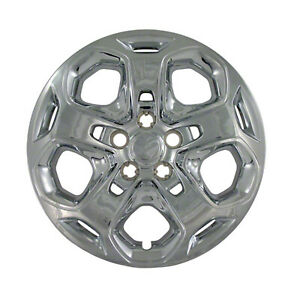 Brand New Set Of 4 17 Chrome Bolt On Hubcaps For 2010 2011 Ford Fusion