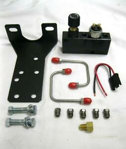 Adjustable Brake Proportioning Valve Distribution Block Kit Bracket