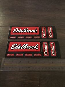 Edlebrock Performance Sticker Pair
