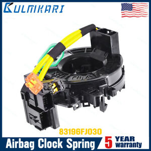 Airbag Clock Spring 83196fj030 Fit For Subaru Wrx Brz Crosstrek Forester Impreza
