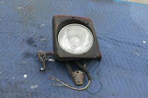 Porsche 944 Front Left Driver Side Headlight Assembly Red