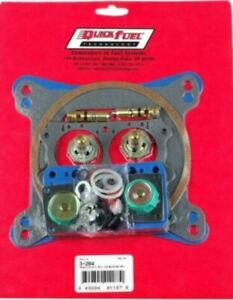 Holley Alcohol Carburetor Carb Rebuild Kit With 150 Needle Seat Quick Fuel 3 204