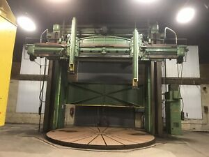 Sellers Vertical Boring Mill 18 24 With 20 Turn Table Heavy Duty