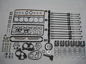 Deluxe Engine Rebuild Kit 1941 1947 Chevrolet 216 6 Cyl Chevy Pistons Valves