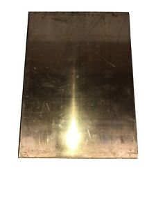 Bronze Commercial Bronze Sheet Plate Stock 6 75x9 25 x 25 thick