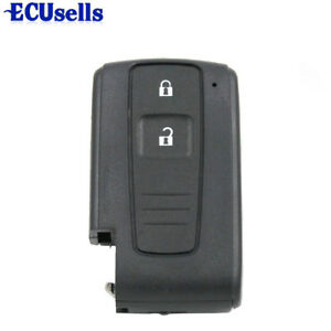 Replacement Smart Remote Key Case Shell Keyless 2 Button For Toyota Prius
