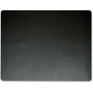Artistic Eco black Microban Desk Pad Rectangle 19 Width X 24 Depth