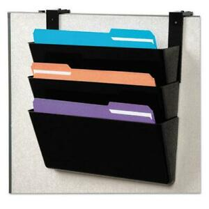Docupocket Stackable Three pocket Partition Wall File Letter 13 X 4 X 7
