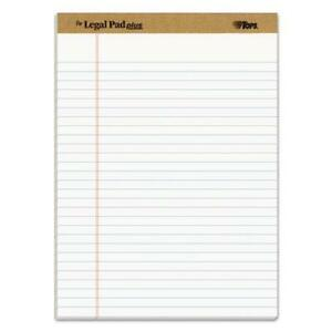 the Legal Pad Ruled Pads Wide legal Rule 8 5 X 11 75 White 50 Sheets