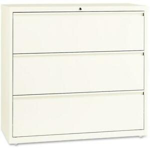 Lorell 42 Lateral File 42 X 18 X 40 3 X Drawer s For File A4