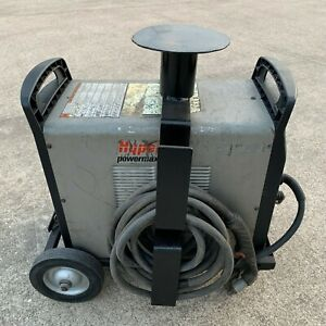 Hypertherm Powermax 105 Plasma Cutter W 25ft Hand Torch System W Wheels