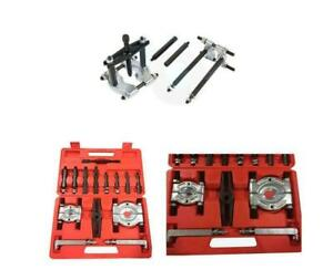 Black Bearing Separator Puller Set 2 3 Splitters Remove Bearings Kit