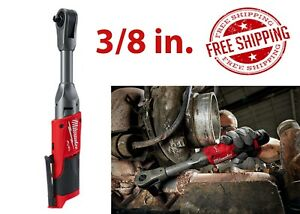 Milwaukee 2560 20 3 8 In Extended Reach Ratchet Bare Tool New Free Shipping