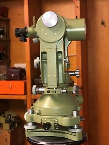 Autocollimation Theodolite Wild T2 Swiss Surveyor Lab Testing