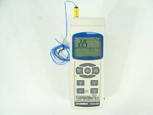 Omega Rdxl4sd Sd Card Datalogger 4 Channel Thermometer Type K j r e t s 100 Ohm