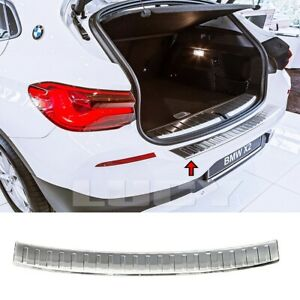 For Bmw X2 F39 Chrome Rear Bumper Protector Guard 2017up S steel