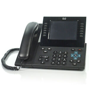 Cisco 9971 Cp 9971 6 line Unified Ip Voip Black Office Phone Cp 9971 c k9 no Ac