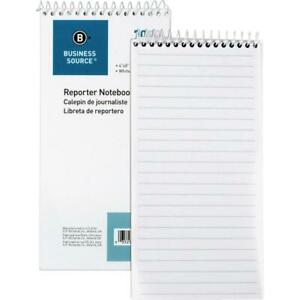 Business Source Coat Pocket size Reporters Notebook 70 Sheets Spiral