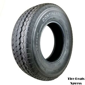 2 two Takeoff Lt245 75r16 Continental Vanco e Bsw 2457516 R16 Tire Pn0451099