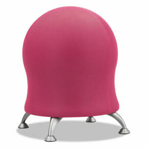 Zenergy Ball Chair Pink Seat pink Back Silver Base