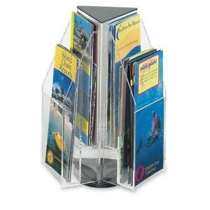 Safco Reveal 4 Pamphlet Tabletop Display 6 Compartment s Compartment