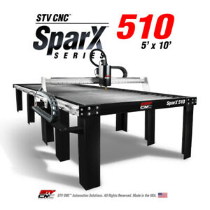 Stv Cnc 5x10 Cnc Plasma Cutting Table