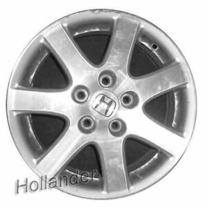 16 Inch Honda Accord 2004 2005 Oem Factory Original Alloy Wheel Rim 64000