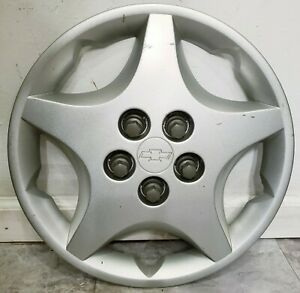 1 Oem 2000 05 Chevy Cavalier Base 14 Bolt On Hubcap Wheel Cover 0c 9594639