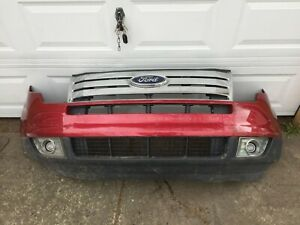 07 10 Ford Edge Front Bumper With Grill