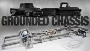 New Tci Grounded Chassis 1955 1959 Chevrolet Pickup Firestone Air Ride