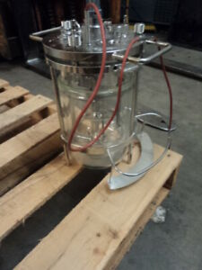 1 5 L Jacketed Filter Reactor Jacketed Chemical Reactor Glass Reaction Vessel