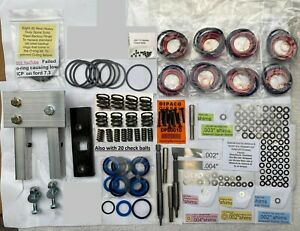 7 3l Powerstroke Injector Deluxe Rebuild Kit W Vice Clamp And Tools To Install