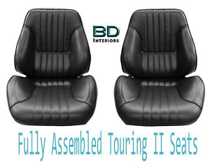 1968 Chevelle El Camino Touring Ii Front Bucket Seats Assembled
