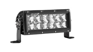 Rigid 106313 In Stock E Series Pro 6 Led Light Bar Spot Flood Combo