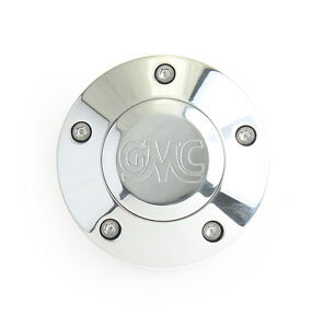 Laser Engraved Polished Billet Horn Button With Classic Gmc Truck Logo