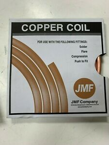 Copper Coil 1 2 Id 20 Ft
