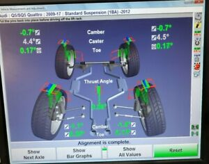 Hunter S811 Wheel Alignment Console With Dsp508xf Wireless Sensors Up To 2016